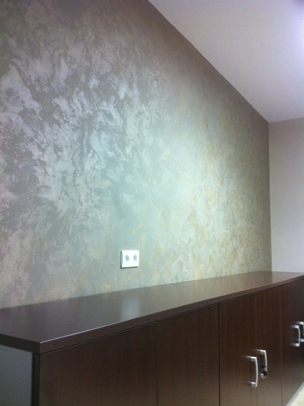 Peinture decorative murale interieur id es de d coration for Decoration interieur peinture simulation